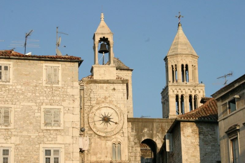 Churchbell in Split Croatia