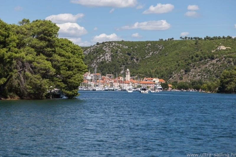 Skradin croatia ultra sailing