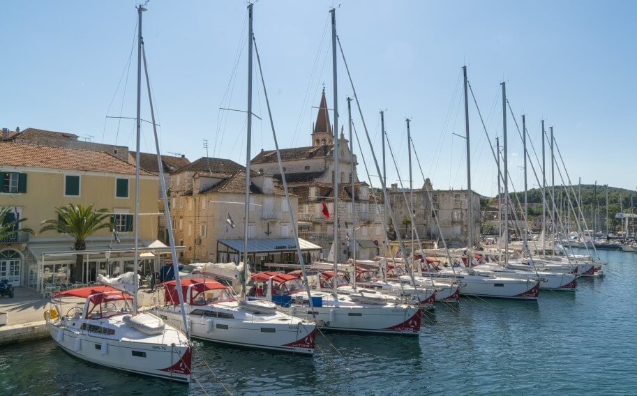 Ultra Sailing boat fleet in Croatia